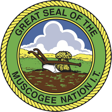 Great Seal Of The Muscogee Nation I.T.